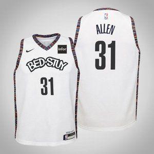 Women Brooklyn Nets Jarrett Allen City Jersey